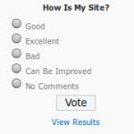 Oryginalne WP-Polls po instalacji