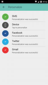 Opcje personalizacji