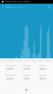 Wykres z dnia